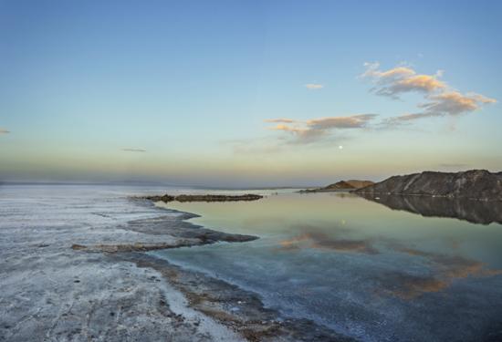 آشنایی با دریاچه نمکی حوض سلطان