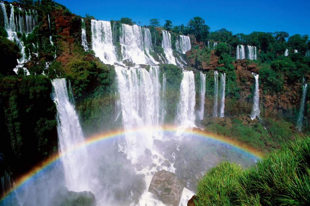 Iguazu falls. Iguazu National Park. Misiones. Argentina