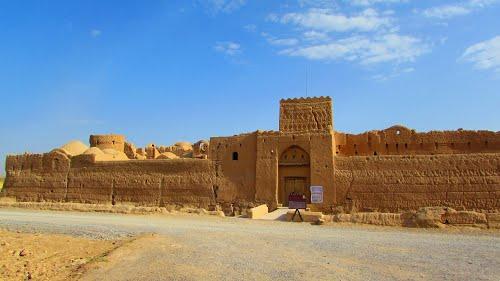 گزارش سفر به روستای سریزد و شهرستان مهریز بهمن 95