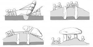 سنگ افراشته های گوچانگ، هواسان و گانگهوا