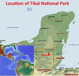 پارک ملی تیکال