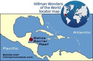 سیستم سد محافظتى صخره هاى مرجانى در بلیز
