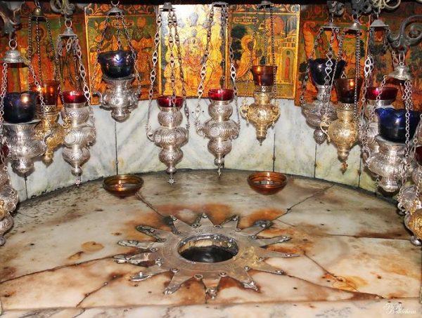 صومعهی مهد (زادگاه مسیح) و مسیر راهپیمایی زوار ، بیتلحم.