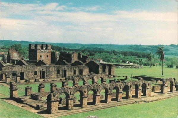 صومعه هاى یسوعیون به نامهاى La Santisima Trinidad de Parana'و Jesus de Tavarangue