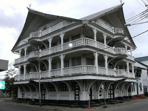 بخش مرکزی شهر پاراماریبو