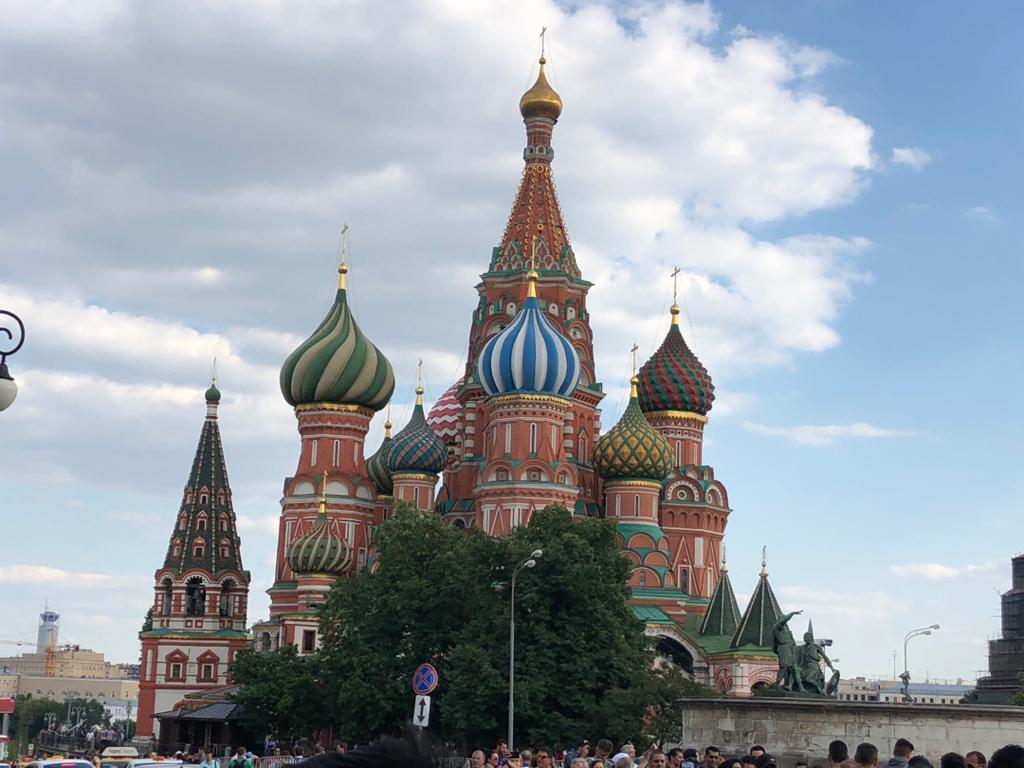 كرملين و ميدان سرخ مسکو، الهام نصیری