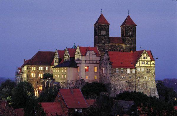 کلیسا، قلعه و بافت قدیمی شهر کوئدلینبورگ