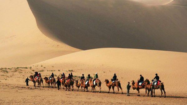 جاده ابریشم،شبکه ى راههاى گذرگاه چانگ ان -تیانشان