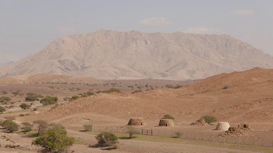 مکان های باستانی در بات، الخطم و العین